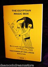 EGYPTIAN MAGIC BOX. Basil Crouch Le-Croix, Finbarr Grimoire. Power of the Logos