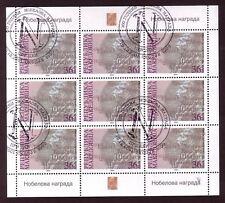 Mazedonien 242 o Kleinbogen Nobelpreise (1309)