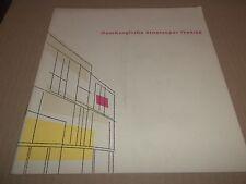 HAMBURGEISCHE STAATSOPER 1964 / 1965 HAMBURG STATE OPERA PROGRAMME