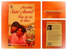 Pour un air de blues.Marianne Saint-Amand. Roman Amour et Destin J'Ai Lu N° 4238