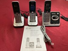 At&t Corldless Telephone Answering System With Caller ID & Waiting, 3 Phones