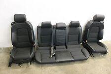 AUDI A3 8P 3,2l Sitze Ledersitze TEILLEDER STOFF LEDER Ausstattung Innen schwarz
