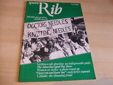Spare Rib Women's Liberation Feminist Magazine Number 38 August 1975
