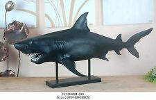 NEW UNIQUE FEATURE 1.1m Long Funky Real Size Shark HURRY FREE SHIPPING PROMOTION