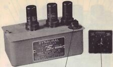 1951 Scott 111-B Dynaural Converter Service Manual photofact schematic diagram