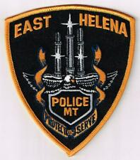 East Helena Police, Montana patch
