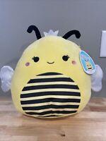 "Squishmallow RARE sunny bumble bee 12"""