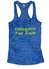 New! CrossFit Tank Top. CrossFit Shirt. Gym Tank. Embrace the Pain Tank. Medium.