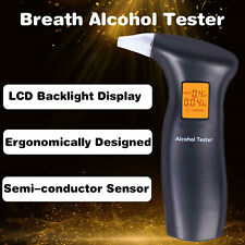 Handheld Digital Alcohol Breathalyser Drink Driving Breathalyzer Breath Tester