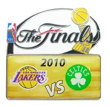 2010 NBA Finals Dueling Logo Pin - Los Angeles Lakers vs Boston Celtics