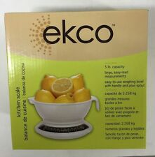 ekco 5-Lbs Kitchen Scale