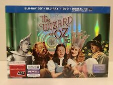 THE WIZARD OF OZ 75TH ANNIVERSARY LIMITED EDITION BLURAY + 3D & PIN SET SEALED!
