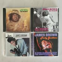 James Brown - Lot of 4 CDs - Funky Goodtime - The Payback -Millennium Collection