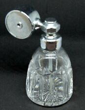VINTAGE CUT GLASS PERFUME SPRAY