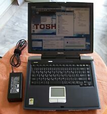 "Toshiba Satellite SA20 laptop 15"" Pentium 4, 2.8GHz parallel Win XP (a20 a40 pro"