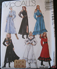 McCall's 7188 Sewing Pattern Western Rodeo Square Dance Dress Sz 8 10 12 UNCUT