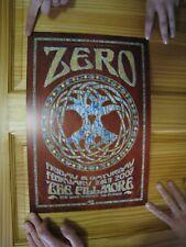 Zero Steve Kimock John Cipollina Poster Grateful Dead Fillmore The Quicksilver