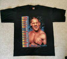 Vintage Chris Jericho T-Shirt Large WWE WWF AEW Rare