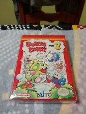 Bubble Bobble 2 Nes Original Box Overlay