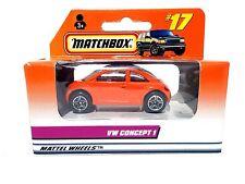 MATCHBOX # 17 VW CONCEPT 1 MATCHBOX BETTLE VOLKSWAGEN BUG