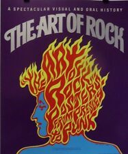 The Art of Rock   The Poster Explosion   Orig. 1987 Promo Poster for the Book