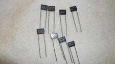 General Electric nos capacitors lot of 8 pcs. 50V .0018 +or-5