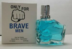 Only for Brave Men Men's Cologne Spray 3.4 fl.oz..