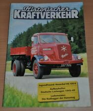 Historischer Kraftverkehr HIK 5/01 Henschel HS 100 K Deutsche LKW Hanomag