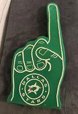 Vintage NHL Dallas Stars Foam Finger Green Fan Souvenirs Memorabilia