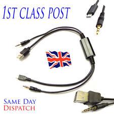BMW Mini Cooper de tipo C y USB cable de audio de carga para Samsung S8 Note 8 Plus