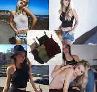Sexy Women Bralette Bralet Bustier Crop Top Cami Tank Tops Sleeveless Vest