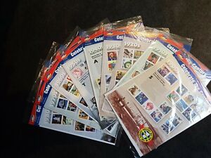 Celebrate The Century Stamps - Set of 9 (1900s - 1980s)