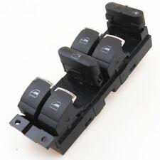 Chrome Window Lock Master Control Switch Button For VW Golf MK4 Jetta Passat B5