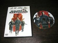 Cursed Bastardos DVD Brad Pitt Diane Kruger Christoph Waltz Daniel Bruhl