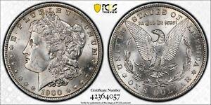 1900-O/CC $1 MORGAN SILVER DOLLAR VAM 11 PCGS MS62 #42364057 EYE APPEAL! TOP 100