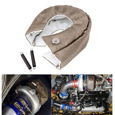 TITANIUM TURBO BLANKET HEAT SHIELD TURBOCHARGER COVER FOR T3 T25 T28 GT25 GT30