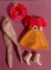Barbie Fashion Avenue Boutique Dress Hat Boots Stockings Set Accessories