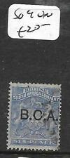 BRITISH CENTRAL AFRICA (PP1009B) BCA SURCH 6D  SG4    VFU
