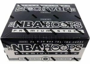 2019-20 NBA Hoops Premium Stock Multi Pack Box Cello Box NEW SEALED