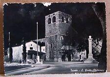 Trieste - S.Giusto (notturno) [grande, b/n, viaggiata]