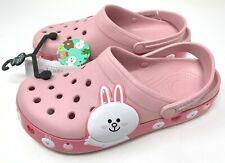 "Crocs Crocband Line Friends Clog ""Cony the Bunny"" Women's 10 Men's 8 - RARE"