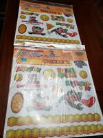 Chucky Cheese  Party Punch Out Decorations Kit New Lot of 2