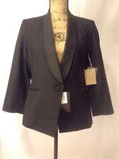 NWT Boy Band of Outsiders Black Shawl Collar Tuxedo Blazer Jacket Size 5 XL $990