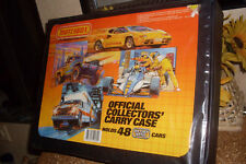 1983 MATCHBOX SUPERFAST 48 CAR AMBULANCE COLLECTORS CARRY CASE/3 BLUE TRAYS