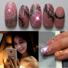 2015 New Nfc Luck Nail Art Sticker Led Light Flash Phone Scintillation Decal Hi