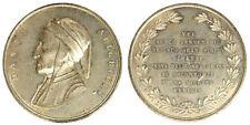 Medaglia Dante Alighieri Firenze 6° Centenario del Suo Gran Figlio §M21