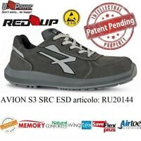 SCARPE ANTINFORTUNISTICA UPOWER RED UP  AVION S3 CI SRC U-Power PELLE BASSE