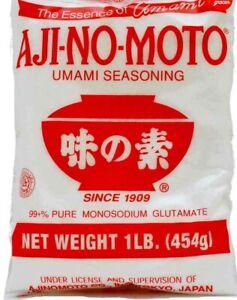 2x Ajinomoto Monosodium Glutamate Umami Seasoning MSG 454g AJI-NO-MOTO Season