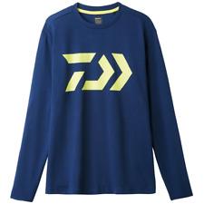 Sale Daiwa DE-8207 T Shirt Long Sleeve Navy Size XL 228985