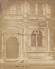 Façade de San Rocco Venezia Venise Italie Italia Vintage albumine, ca 1865